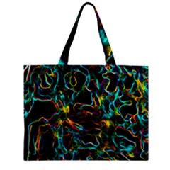 Soul Colour Zipper Tiny Tote Bags by InsanityExpressedSuperStore