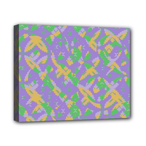 Mixed Shapes Canvas 10  X 8  (stretched) by LalyLauraFLM