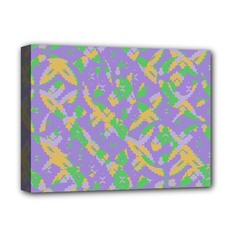 Mixed Shapes Deluxe Canvas 16  X 12  (stretched)  by LalyLauraFLM