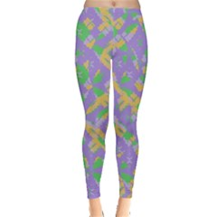 Mixed Shapes Leggings