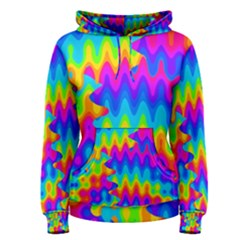 Amazing Acid Rainbow Women s Pullover Hoodies by KirstenStarFashion
