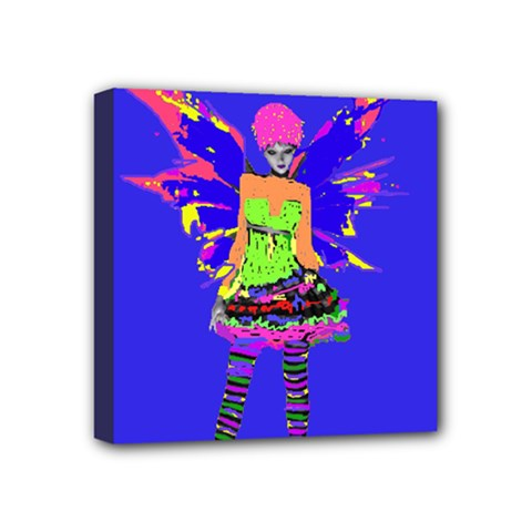 Fairy Punk Mini Canvas 4  X 4  by icarusismartdesigns