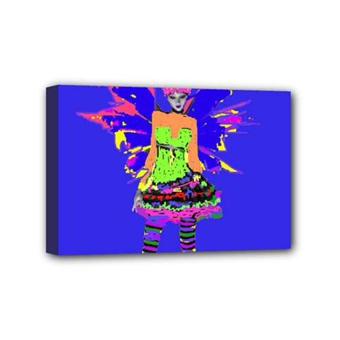 Fairy Punk Mini Canvas 6  X 4  by icarusismartdesigns