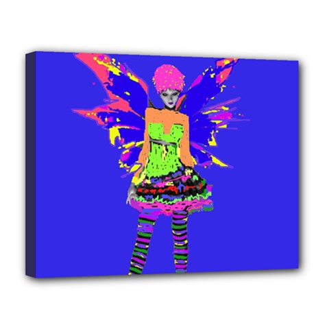 Fairy Punk Canvas 14  X 11  by icarusismartdesigns
