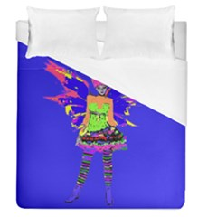 Fairy Punk Duvet Cover Single Side (full/queen Size) by icarusismartdesigns
