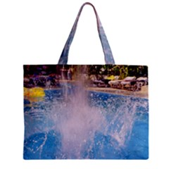 Splash 3 Tiny Tote Bags by icarusismartdesigns