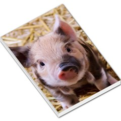 Sweet Piglet Large Memo Pads by ImpressiveMoments