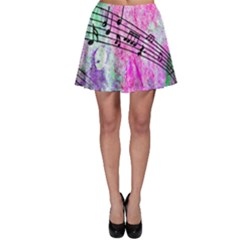 Abstract Music  Skater Skirts