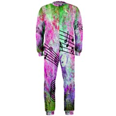 Abstract Music  Onepiece Jumpsuit (men)