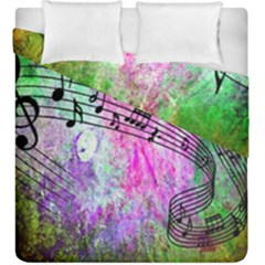 Abstract Music  Duvet Cover (king Size)