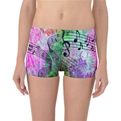 Abstract Music  Reversible Boyleg Bikini Bottoms by ImpressiveMoments