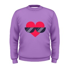 Sunglasses Heart Men s Sweatshirts