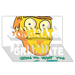 Show Me What You Got New Fresh Congrats Graduate 3d Greeting Card (8x4)  by kramcox