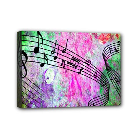 Abstract Music 2 Mini Canvas 7  X 5
