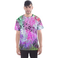 Abstract Music 2 Men s Sport Mesh Tees