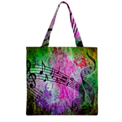 Abstract Music 2 Grocery Tote Bags by ImpressiveMoments