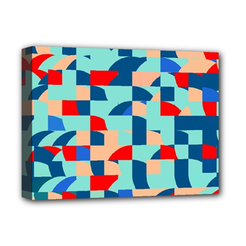 Miscellaneous Shapes Deluxe Canvas 16  X 12  (stretched)  by LalyLauraFLM