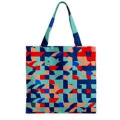 Miscellaneous Shapes Grocery Tote Bag by LalyLauraFLM