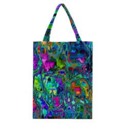Inked Spot Fractal Art Classic Tote Bag by TheWowFactor