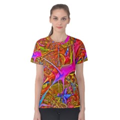 Biology 101 Abstract Women s Cotton Tees by TheWowFactor