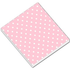 Pink Polka Dots Small Memo Pads by LokisStuffnMore
