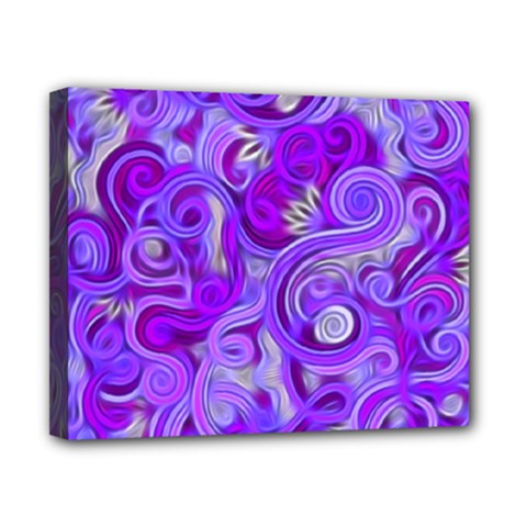 Lavender Swirls Canvas 10  X 8  by KirstenStar