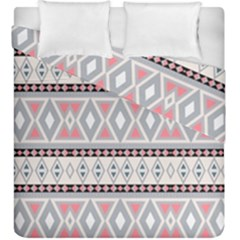 Fancy Tribal Border Pattern Soft Duvet Cover (king Size)