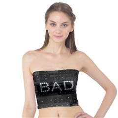 Diamond Bad Black Stars Tube Top