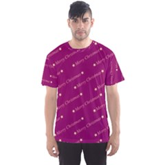 Merry Christmas,text,bordeaux Men s Sport Mesh Tees by ImpressiveMoments