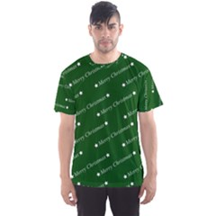 Merry Christmas,text,green Men s Sport Mesh Tees by ImpressiveMoments
