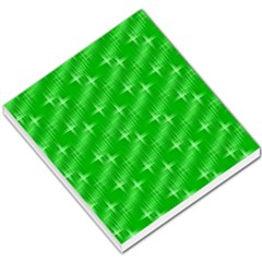 Many Stars, Neon Green Small Memo Pads by ImpressiveMoments