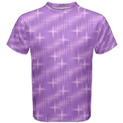 Many Stars, Lilac Men s Cotton Tees
