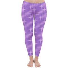 Many Stars, Lilac Winter Leggings