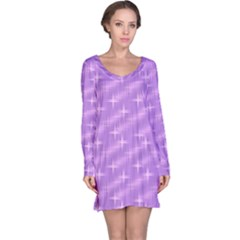 Many Stars, Lilac Long Sleeve Nightdresses