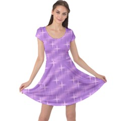 Many Stars, Lilac Cap Sleeve Dresses