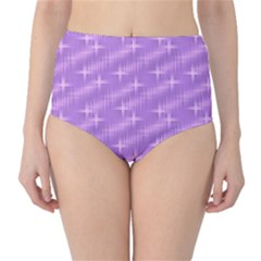 Many Stars, Lilac High-Waist Bikini Bottoms