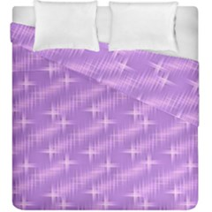 Many Stars, Lilac Duvet Cover (King Size)