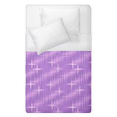 Many Stars, Lilac Duvet Cover Single Side (Single Size)