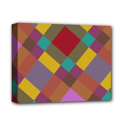 Shapes Pattern Deluxe Canvas 14  X 11  (stretched)