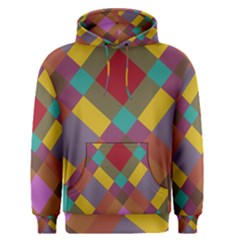 Shapes Pattern Men s Pullover Hoodie