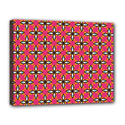 Cute Pretty Elegant Pattern Canvas 14  X 11