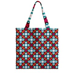 Pattern 1284 Zipper Grocery Tote Bags