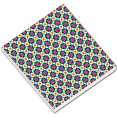 Cute Abstract Pattern Background Small Memo Pads by creativemom
