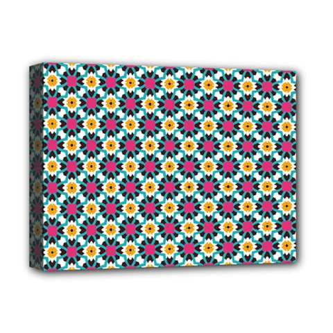 Cute Abstract Pattern Background Deluxe Canvas 16  X 12   by creativemom