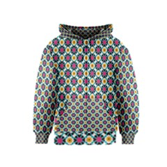 Cute Abstract Pattern Background Kids Zipper Hoodies by creativemom