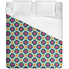 Cute Abstract Pattern Background Duvet Cover Single Side (double Size) by creativemom