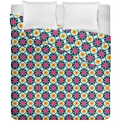 Cute Abstract Pattern Background Duvet Cover (double Size) by creativemom