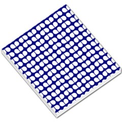 Blue And White Leaf Pattern Small Memo Pads by creativemom