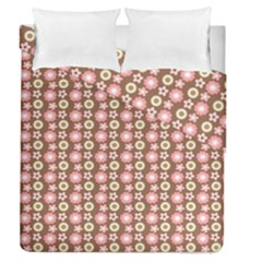 Cute Floral Pattern Duvet Cover (full/queen Size)