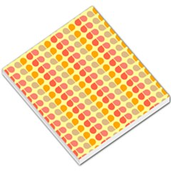 Colorful Leaf Pattern Small Memo Pads by creativemom